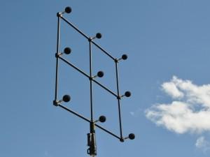 Zubehör zur Messung von Schalldämmung an Lärmschutzwand mit Schallabsorptionsmessgerät in situ