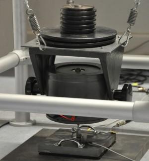 Messung mechanische Eingangsimpedanz