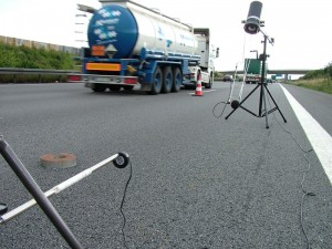 Measurement of the sound propagation of road surfaces in situ