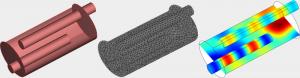 Numerische Modellierung der Einfügungsdämpfung von Schalldämpfern mit FEM