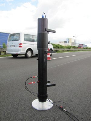 measurement of sound absorption coefficient of road surface wih impedance tube in situ