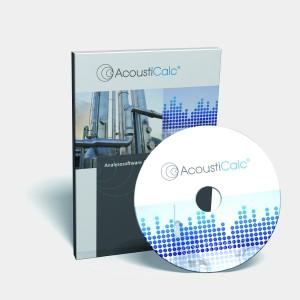 Berechnung der Schalldämpfung mit Schalldämpfer-Software AED 8001 - AcoustiCalc