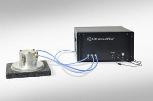 Airflow resistivity meter in a new design - Configurable airflow resistivity meter AcoustiFlow