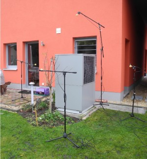 IWKM 2014 - Determination of noise emission and possibilities of noise reduction methods at air water heat pumps