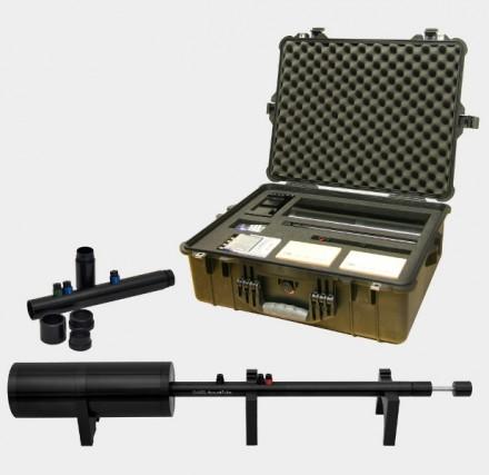 Impedanzrohr AED 1000 - AcoustiTube mit Zubehör zur Messung der Schallabsorption