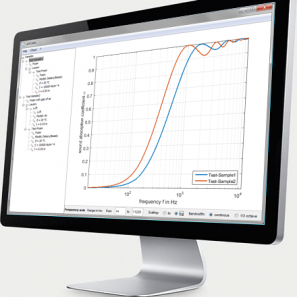 Schallabsorber-Software AED 3001 - AcoustiCalc®Absorber zur Auslegung von mehrschichtigem Schallabsorber