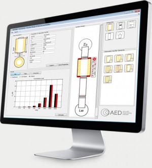 Schalldämpfer-Software AED 8001 - AcoustiCalc<sup>® Silencer</sup> zur schalltechnischen Auslegung von Schalldämpfern