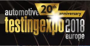 Automotive Testing Expo Europe 2018