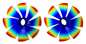 Structural analysis of single components and assemply groups by numerical modeling of vibrational behaviour as well as calculation of natural frequencies