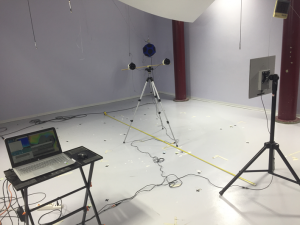 Localization of sound sources acoustic camera