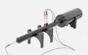 Abschlusskappe mit Mikrofonsitz zur Anwendung der Two-Load-Methode mit 3 Mikrofonen